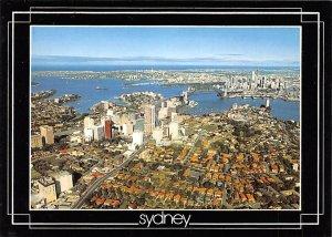 Birds Eye View Sydney Australia Writing on back