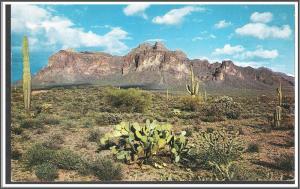 Arizona The Superstition Range Postcard