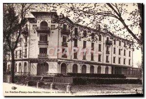 Old Postcard La Roche Posay Vienne les Bains Hotel du Parc
