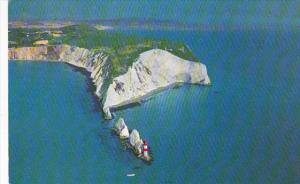 United Kingdom Isle Of Wight The Needles Lighthouse 1974