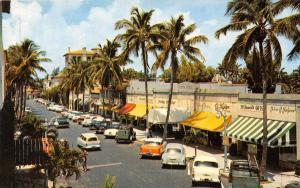 8621  FL Palm Beach 1950's  Worth Avenue , Fifth Avenue of the Sou...