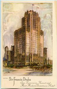 CA - San Francisco, Hotel Sir Francis Drake