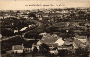 CPA   Angouléme - Ligne de l'Etat - Vue généale   (519210)