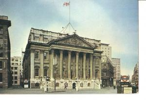 Postal 050112 : London - The Mansion House )George Dance 1752). The official ...