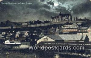 Quebec Canada, du Canada Chateau Frontenac & Citadel  Chateau Frontenac & Cit...