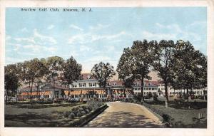 Absecon New Jersey~Seaview Golf Club House~Drive to Building~1920s Postcard