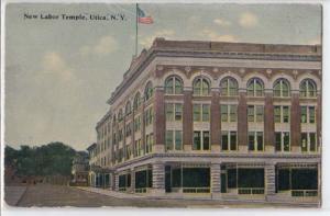 New Labor Temple, Utica NY