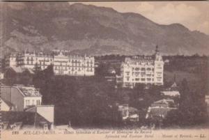 France Aix les Bains Hotels Splendide et Exelsior et Montagne du Revard