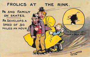 Frolics at the Rink, Roller Skating PU 1909