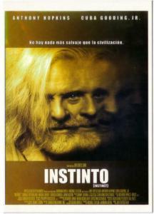 Postcard of Instinct Anthony Hopkins Movie Spanish