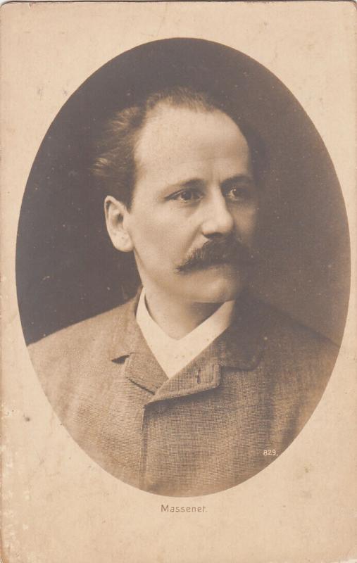 French composer Jules Émile Frédéric Massenet