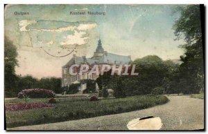 Old Postcard Kasteel Neuburg Gulpen