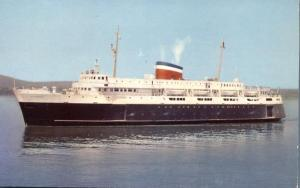 Car Ferry Bluenose - Bar Harbor, Maine - Yarmouth, Nova Scotia - pm 1957