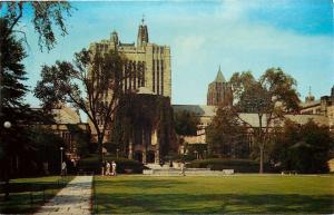 New Haven CT~Yale Univeristy~Sterling Memorial Library~Gutenberg Bible~1960s