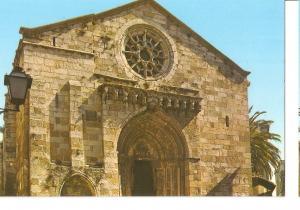 Postal 045893 : La Coruña. Iglesia de Santiago