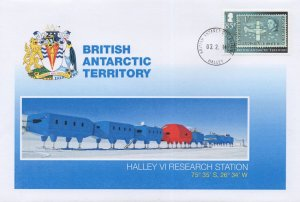 British Antarctic Territory Halley VI Research Station Rare FDC