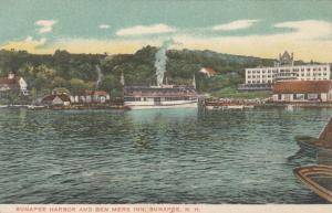 SUNAPEE, New Hampshire, 1901-07; Sunapee Harbor and Ben Mere Inn