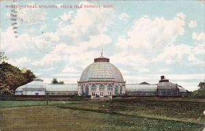 Horticultural Building Belle Isle Detroit Michigan 1908