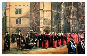 6032  Procession entering the Sheldonian Oxford University