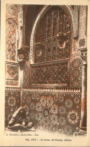 Le Tronc de Moulay Idress - The Trunk of Moulay Idress - Fez, Morocco
