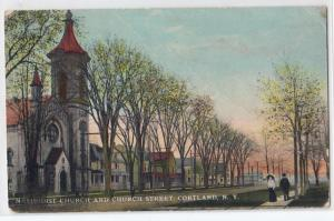 Methodist Church, Cortland NY