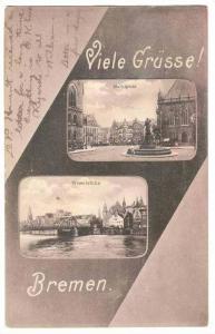 2 Views, Viele Grusse!, Bremen, Germany, 00-10s