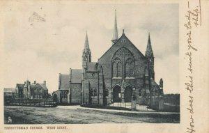WEST KIRBY , England, 1904 ; Presbyterian Church ; TUCK