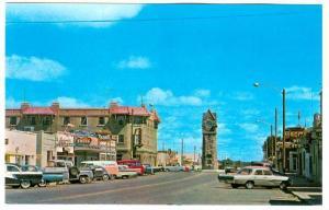 Looking North On 10th Street, Rexall Drug Store/Pharmacy, Wainwright, Alberta...
