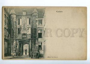 151946 France CALAIS HOTEL de Guise Vintage postcard