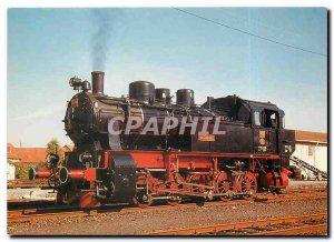 Postcard Modern HESSENCOURRIER steam locomotive 206 HC