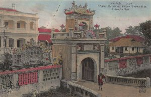 Palace of Prince Tuyen-Hua Frere du Roi, Indo-China, Early Hand Colored Postcard