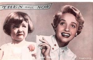 Then and Now, Jane Powell Actor Mutoscope Unused