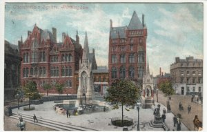 Birmingham; Chamberlain Square PPC By Valentines, 1904, To Miss Bee, Warrington