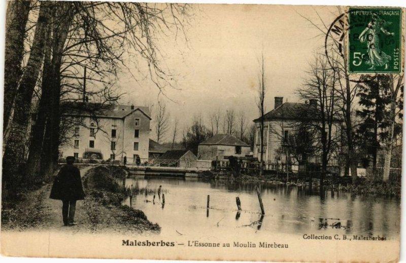 CPA MALESHERBES - L'ESSONNE au MOULIN Mirebeau (227531)