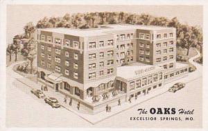 Missouri Excelsior Springs The Oaks Hotel