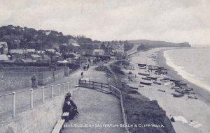 Budleigh Salterton , Devon , England , 00-10s ; Beach & Cliff Walk