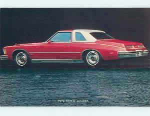 Unused 1974 postcard BUICK RIVIERA CAR - FROM CANANDAIGUA NY DEALER o8471