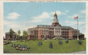 LEXINGTON , Kentucky , 30-40s; Veterans' Hospital