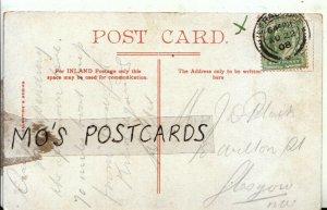 Genealogy Postcard - Jean Black - 18 Wilton Road - Glasgow - Ref 9555A