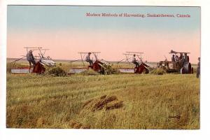 Modern Methods of Harvesting, Saskatchewan,