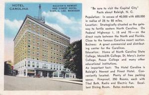 Hotel Carolina - Raleigh NC, North Carolina Linen