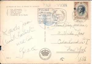 Grace Kelly? - Post Card