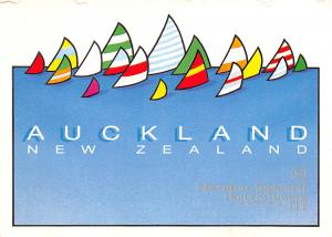New Zealand Old Vintage Antique Post Card Auckland Unused