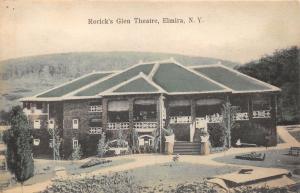 Elmira New York~Rorick's Glen Theatre~c1910 Baker Bros (Elmira) Postcard