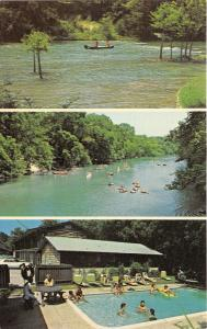 Canyon Lake Texas~Maricopa Lodge~Swimming Pool~Canoeing on Guadalupe River~1970s