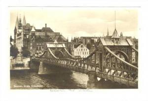 RP: Bremen, Grosse Weserbrucke , Germany , 1910s