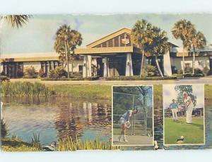 Pre-1980 LODGE SCENE St. Augustine Florida FL c5442