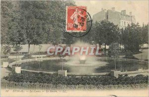Postcard Old Course Epinal Basin
