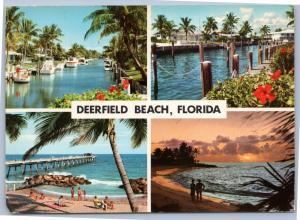 John Hinde - Deerfield beach Florida multi view