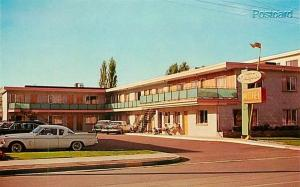 Canada, British Columbia, Penticton, The Downtown Motel, Dexter No. 28205-B